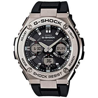 b1bfa04db39 Image Unavailable. Image not available for. Color  Casio Men s G Shock  Stainless Steel ...