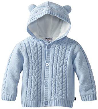 Amazon.com: Kitestrings Baby Boys' Hooded Cardigan Sweater With ...