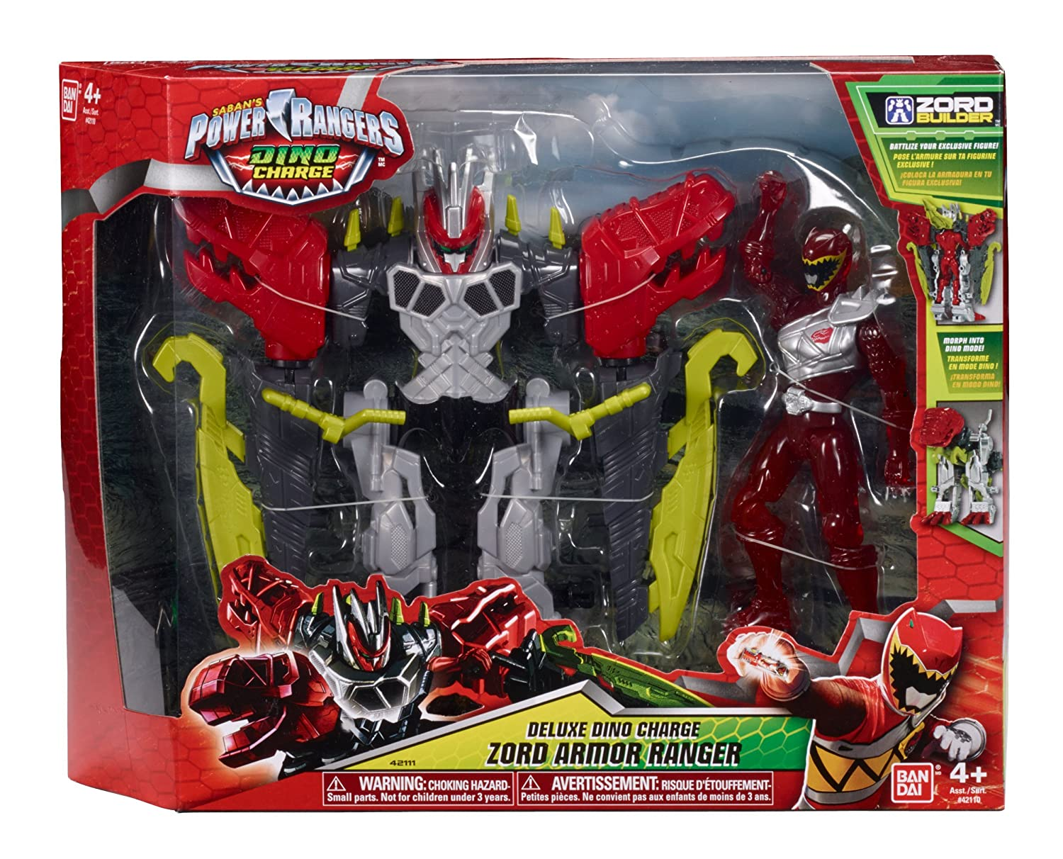 Deluxe Dino Charge Zord Armor Ranger Bandai America Incorporated 42111 Power Rangers Dino Charge