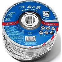 S&R 20 Discos de Corte 125mm para Metal