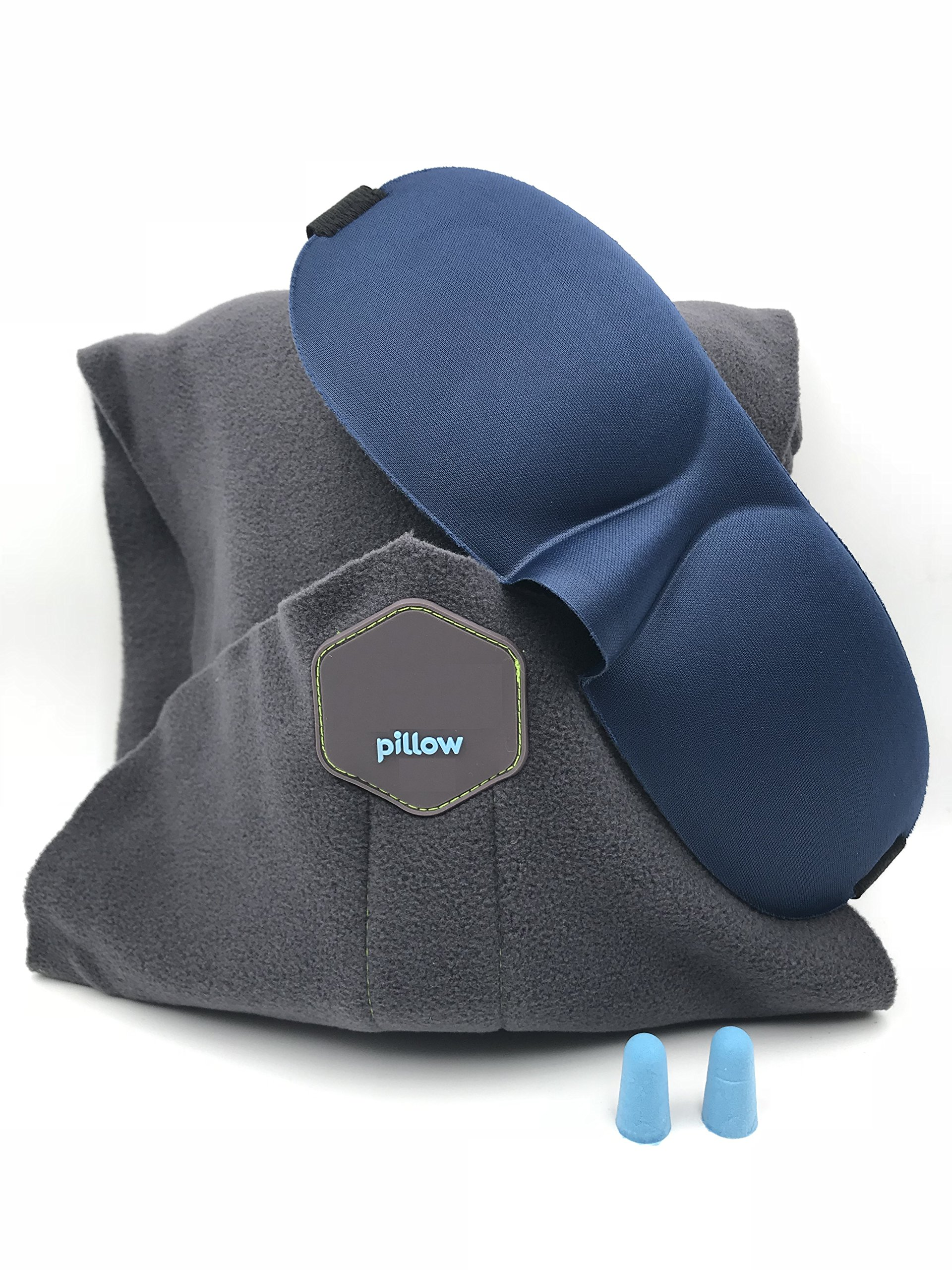 Modernlife Travel Pillow, Airplane Neck Proven Pillow, Memory Foam Pillow, Airplane Sleep Pillow, Airplane Pillow Scarf, Travel Neck Pillow, Travel Pillow Scarf, Machine Washable for Outdoor, Camping