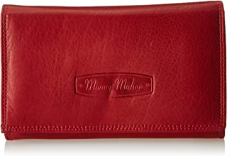 Women's Leather Purse in Horizontal Format (Available in Various Colours) - One Size - BLACK OPJ704S