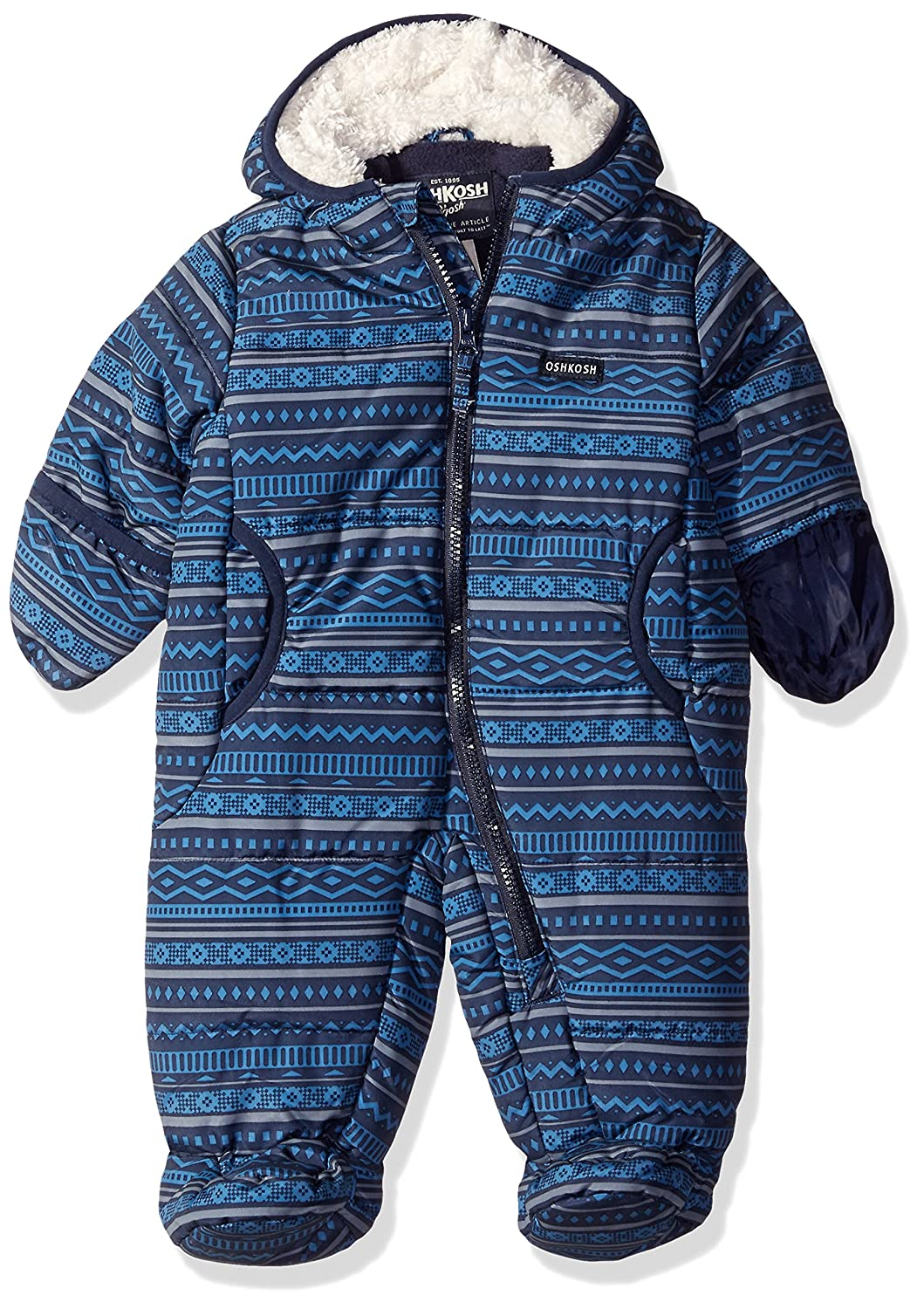 OshKosh baby-boys Baby Heavyweight Pram Suit Osh Kosh (Amerex) Children' s Apparel B216H95