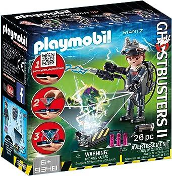 Playmobil Ghostbuster Raymond Stantz Building Set