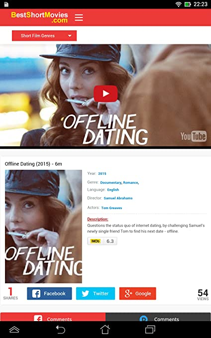 Offline dating movies