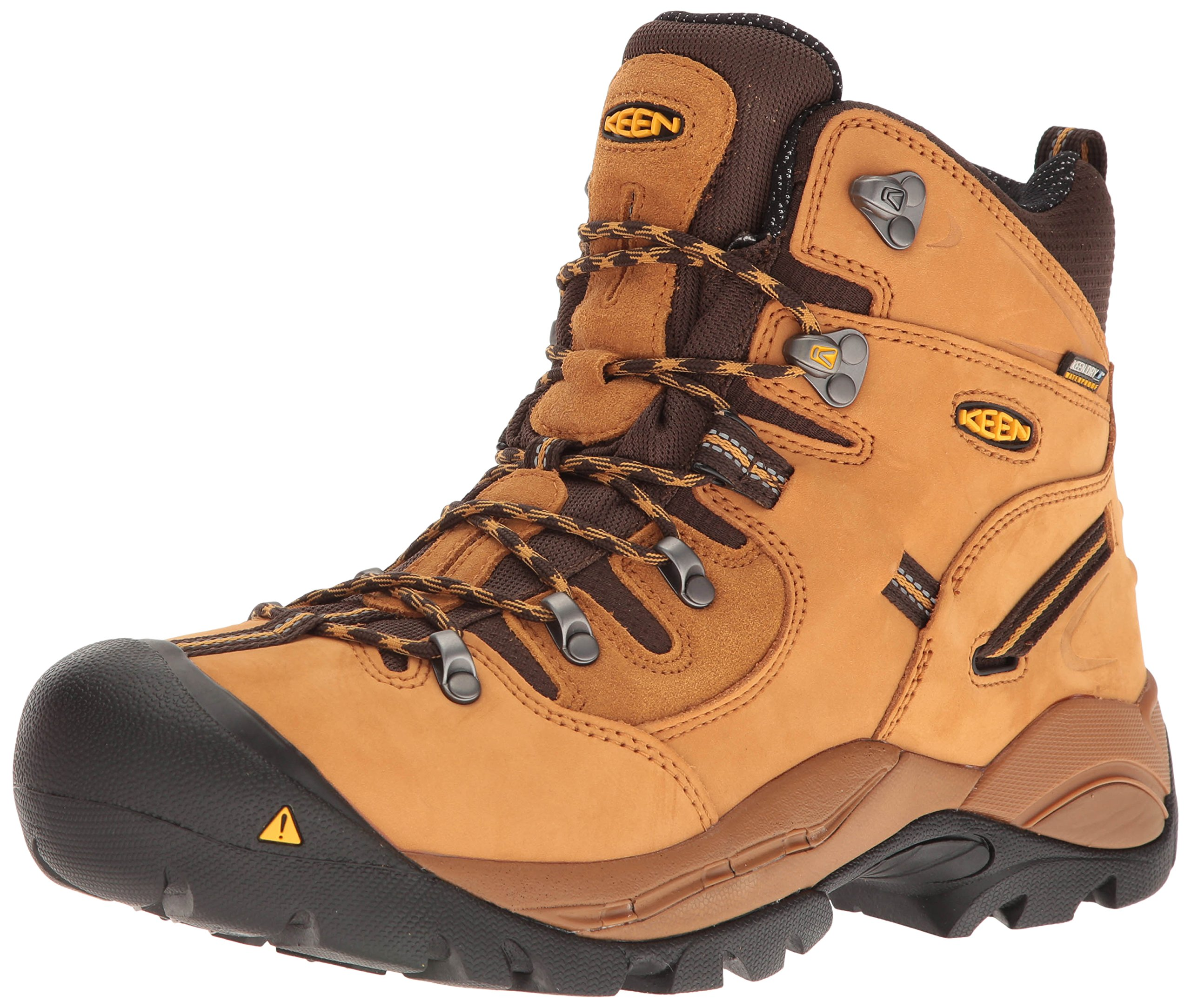 Keen Utility Men's Pittsburgh Industrial and Construction Shoe, Wheat, 12 2E US