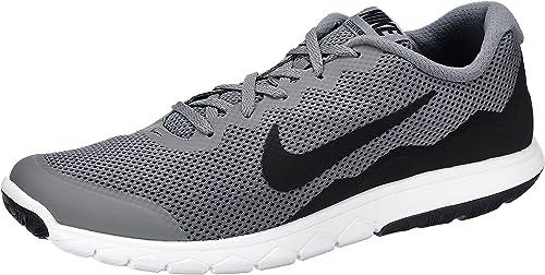 Nike Flex 2016 Run Herren Trainingsschuhe SchwarzWeiß Grau