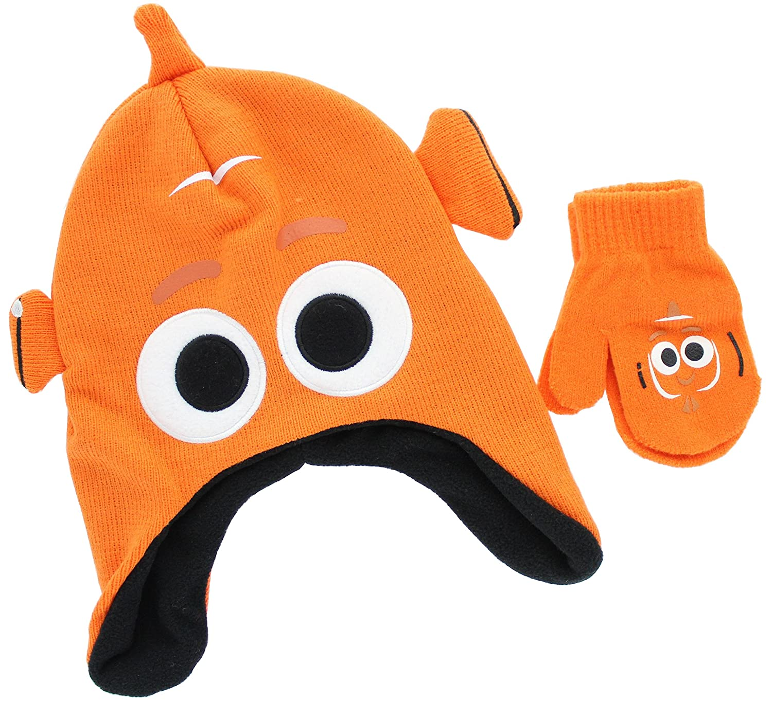 Disney Finding Dory Nemo Toddler Winter Hat & Mitten Set DOY69AAF