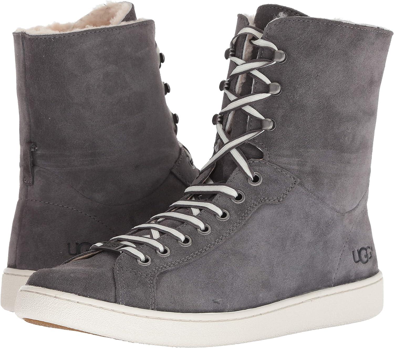 UGG Women's W STARLYN Sneaker, charcoal