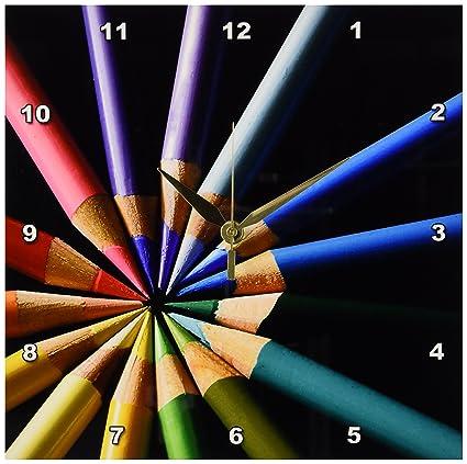 Amazon Com 3drose Dpp 20536 1 Colored Pencils Arraigned In Color