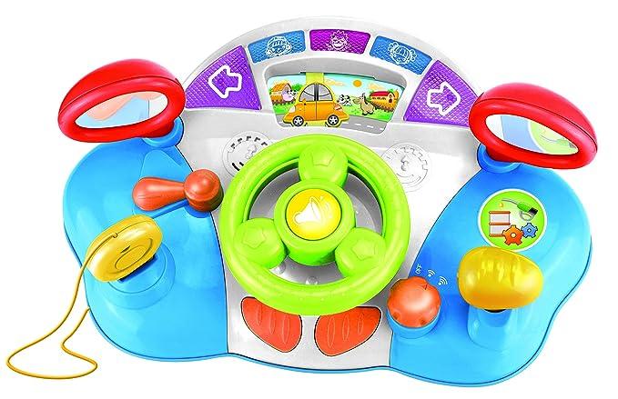 Jocca- Volante Infantil Didáctico, Luces, Sonidos y Flashes ...