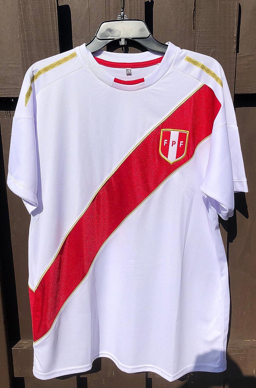 Camiseta Seleccion Peruana SHIRT メンズ B07CYKH8LBX-Large