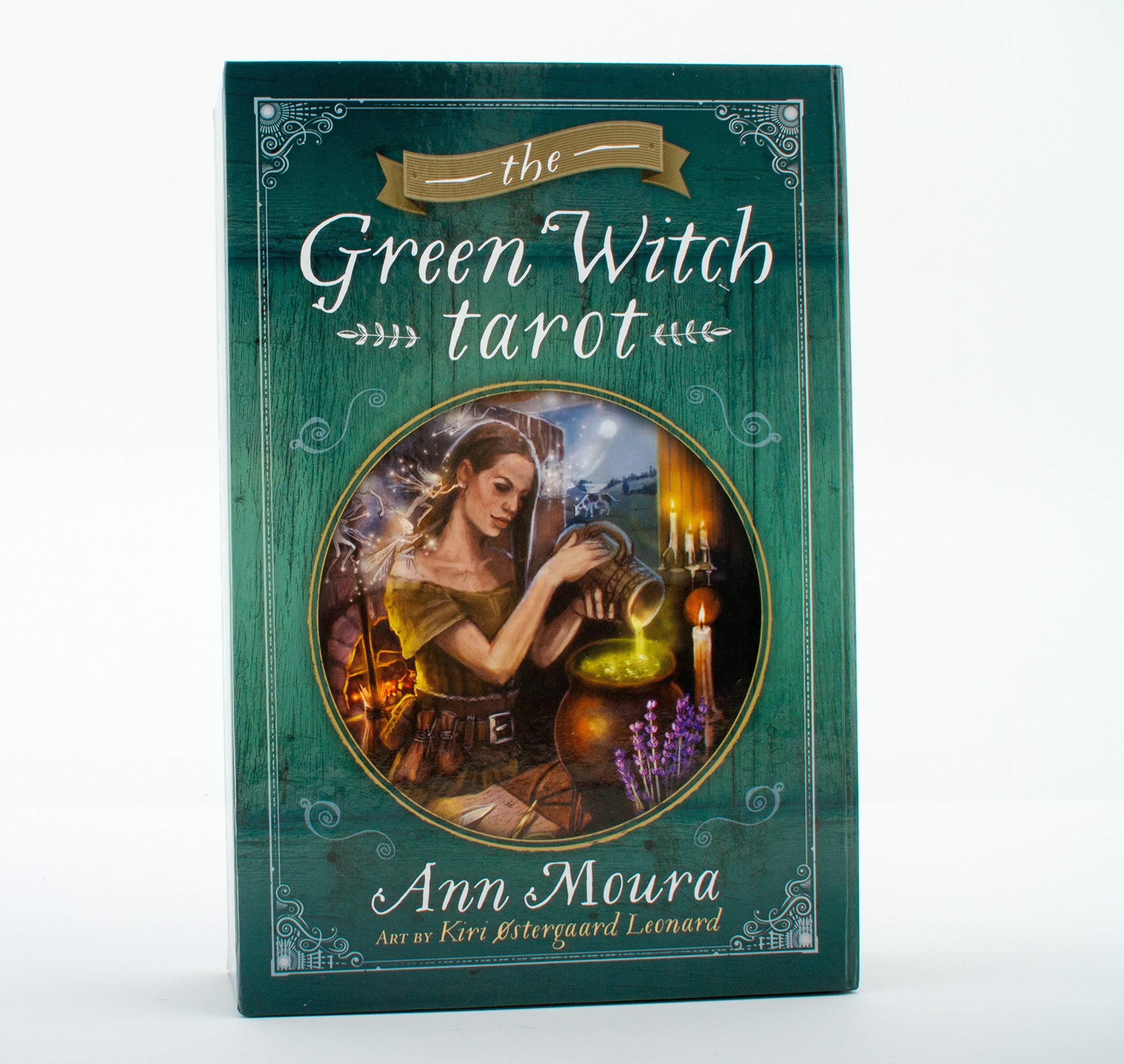 The Green Witch Tarot (Green Witchcraft Series, 8): Ann Moura, Kiri  Leonard: 9780738741659: Amazon.com: Books