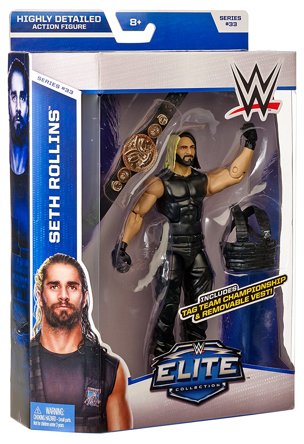 Seth Rollins WWE Elite Collection Series #33
