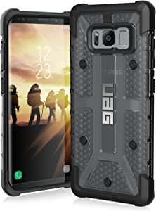 UAG Samsung Galaxy S8 [5.8-inch screen] Plasma Feather-Light Rugged [ASH] Military Drop Tested Phone Case