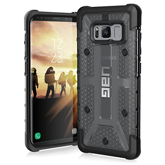 newest ae758 922f5 UAG Samsung Galaxy S8 [5.8-inch screen] Plasma Feather-Light Rugged [ASH]  Military Drop Tested Phone Case