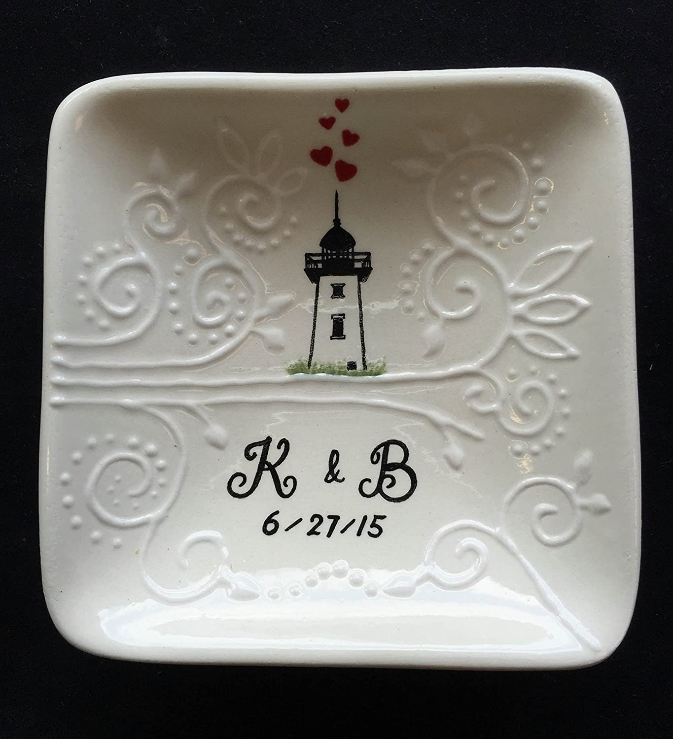 Light house Ring dish, Engagement gift, Wedding gift , Holiday gift, ring holder