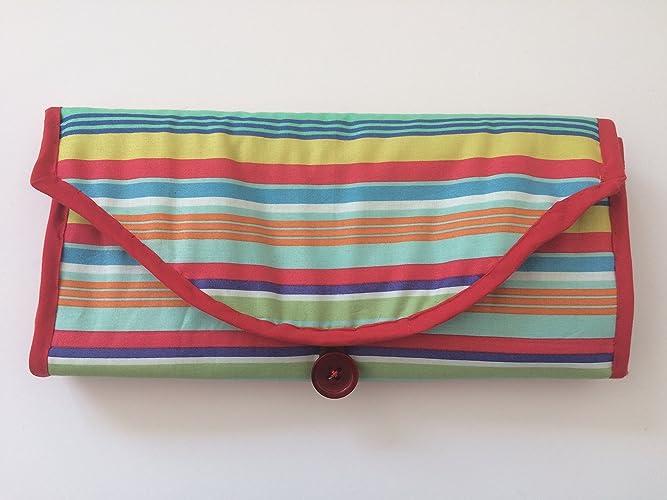 Cambio de pañales con cambio de alfombrilla y bolsillos para pañales y toallitas. Portátil para