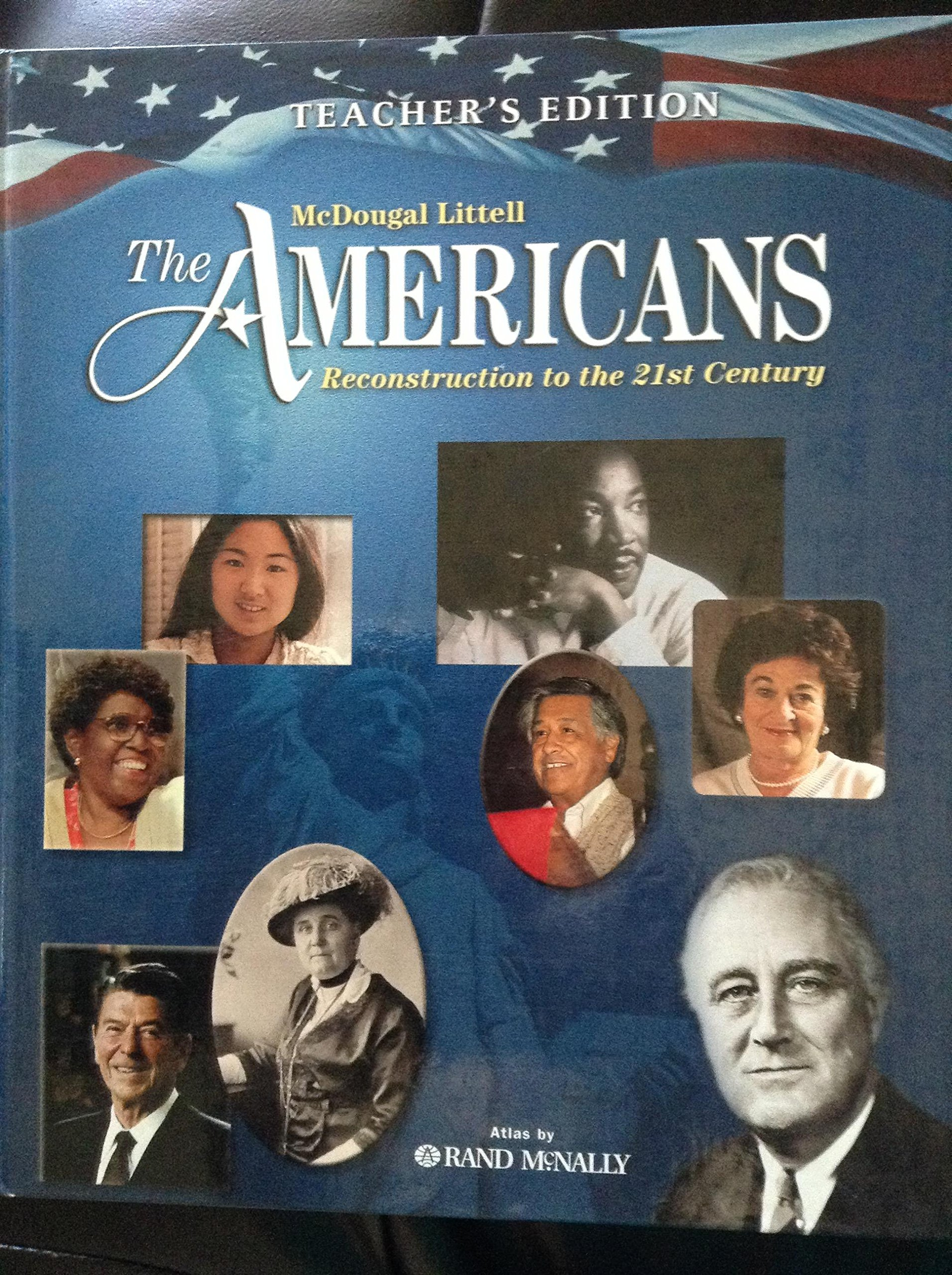 The americans reconstruction through the 21st century teachers edition hardcover import 2003