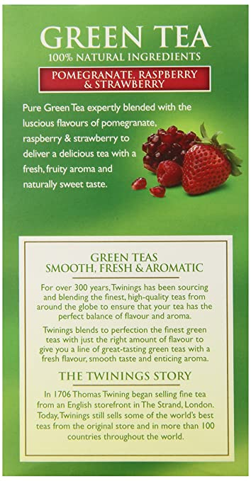 Image result for twinings green tea pomegranate raspberry & strawberry