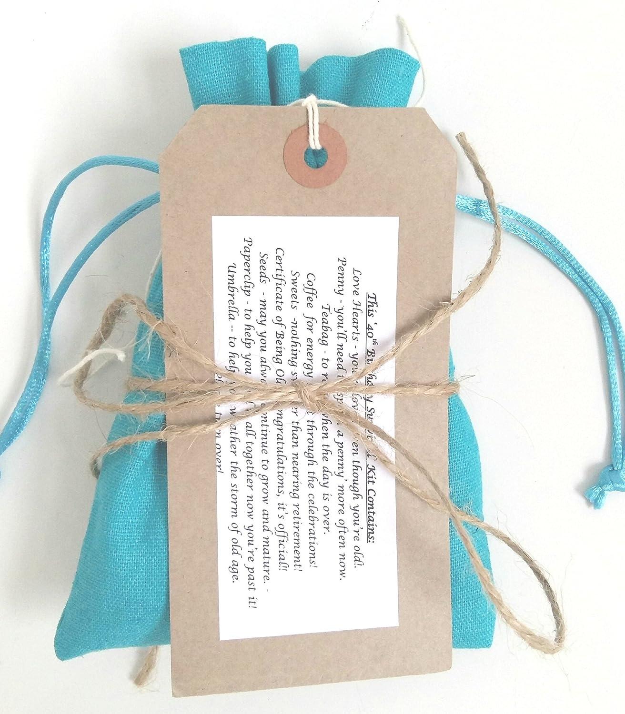 Regalo para 40 cumpleaños – Kit de supervivencia para 40 años, regalo humorístico: Amazon.es: Oficina y papelería