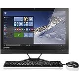 Lenovo Ideacentre 300 23-Inch All-in-One Desktop PC - (Black) (Intel I3-6006U, 8 GB RAM, 1 TB HDD, Windows 10)