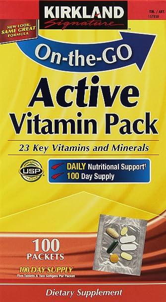 vitamin pack signature Kirkland