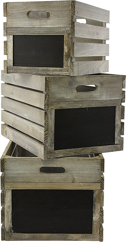 Greemotion Altea - Silla Plegable para jardín o balcón, tamaño pequeño, plástico, para niños, Madera, Abeto de Plata, 46x29x24 cm
