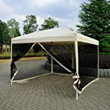 Amazon Com King Canopy Csr1020bk 10 Feet By 20 Feet Fully