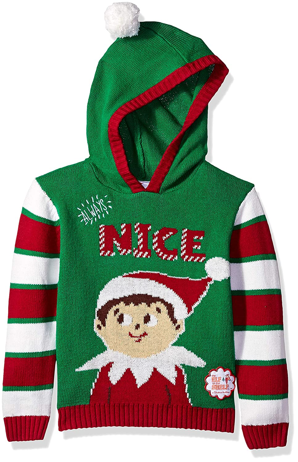 The Elf on the Shelf Little Boys Always Nice Xmas Sweater SLE7-4520H