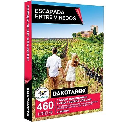 ca1a5e406c465 DAKOTABOX - Caja Regalo - ESCAPADA Entre VIÑEDOS - 460 hoteles  enoturísticos en Las Mejores D.O.