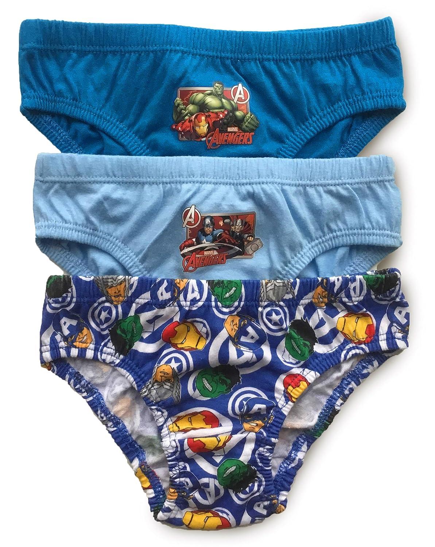 Boys Marvel Avengers Pants 3 Pack