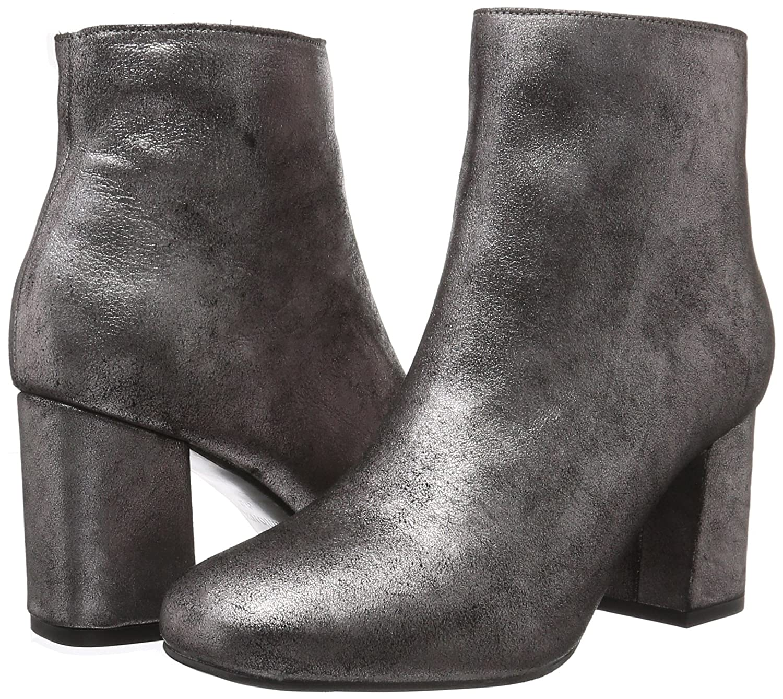 Bronx Mehrfarbig Damen Indira Kurzschaft Stiefel Mehrfarbig Bronx (Rosegold 111) 112738