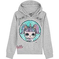 L.O.L. Surprise ! Sudadera con Capucha Niña Muñecas LOL Kitty Queen y Unicorn,Suéter Manga Larga con Estampado de…