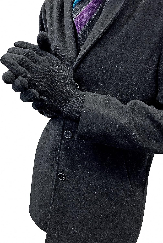 Lannister Fashion Guante Elegante Invierno Para De Warme Mujer Pantalla T/áctil Caliente Grueso A Prueba De Viento Guantes De Imitaci/ón