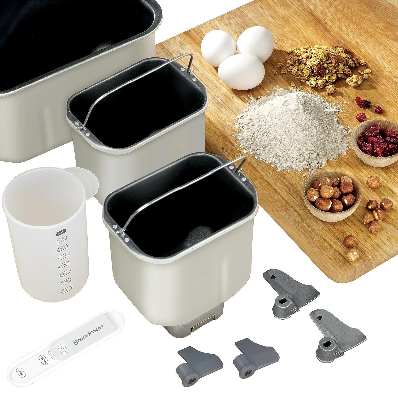 Amazon.com: Breadman BK2000B. Máquina para hacer pan ...