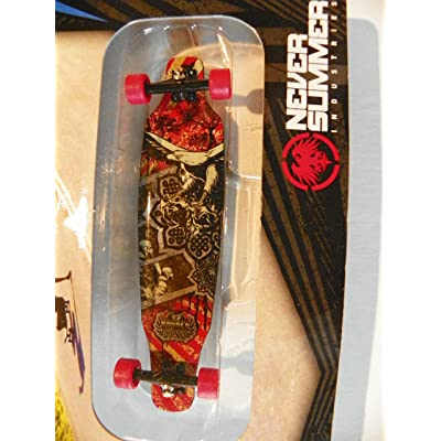 2012 Tech Deck XConcepts Longboards TD Freeride Never Summer Iron Eagle Design (Set 20055460) : Finger Skateboards : Sports & Outdoors