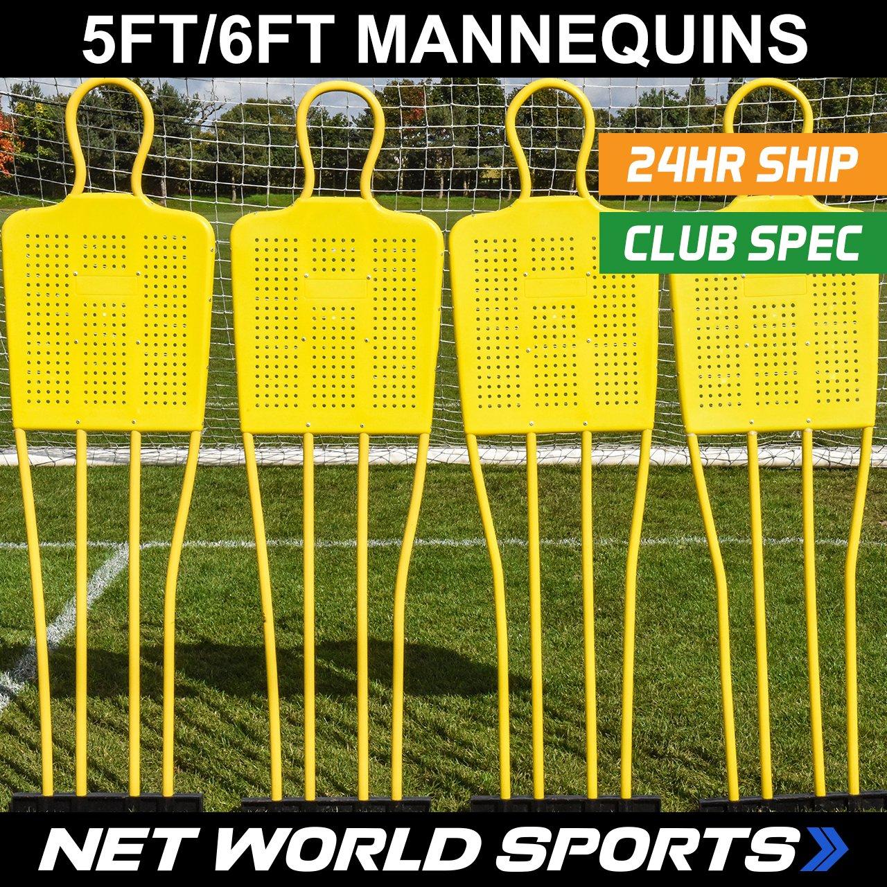 Forza Soccer Free Kick / Coaching Mannequin ( Junior / Seniorサイズ) (数量1または3 ) [ Net世界スポーツ] B01MFZZA68Junior (5ft 4in) 3 Pack