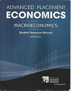 Advanced placement economics teacher resource manual john s advanced placement economics macroeconomics student resource manual fandeluxe Images