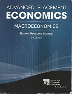 advanced placement microeconomics student resource manual gary l rh amazon com Resource Guide Template Lucille Roybal-Allard Scholarships