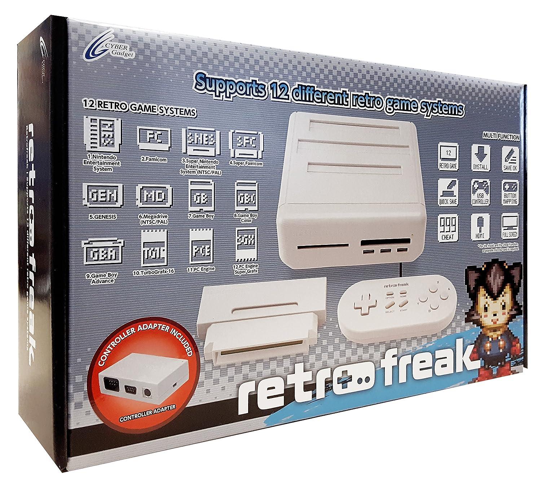 【2017 Release】 Retro Freak ( Retro game emulator ) ( Controller adapter set  ) (輸入版)