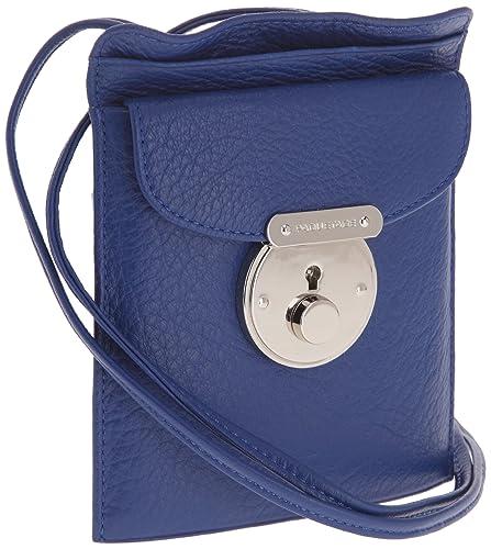 49a7695965 Paquetage Pochette Pm Emile, Sac bandoulière - Bleu (Cobalt): Amazon ...
