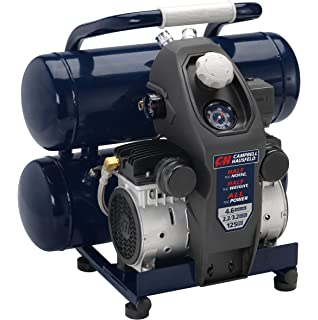 Quiet Air Compressor, Lightweight, 4.6 Gallon, Half the Noise and Weight, 4X