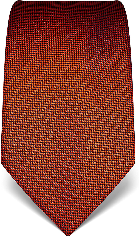 di pura seta di alta qualit/à Vincenzo Boretti cravatta elegante classica da uomo strutturata idrorepellente e antisporco 8 cm x 15 cm