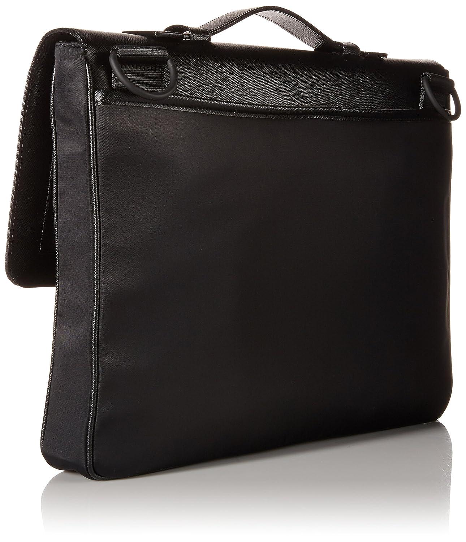 943a4d637c44 Calvin Klein Men's Nylon Saffiano Attache