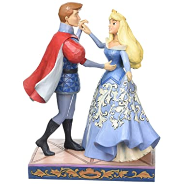 Jim Shore Disney Traditions by Enesco Aurora and Prince Philip Dancing Figurine 4059733