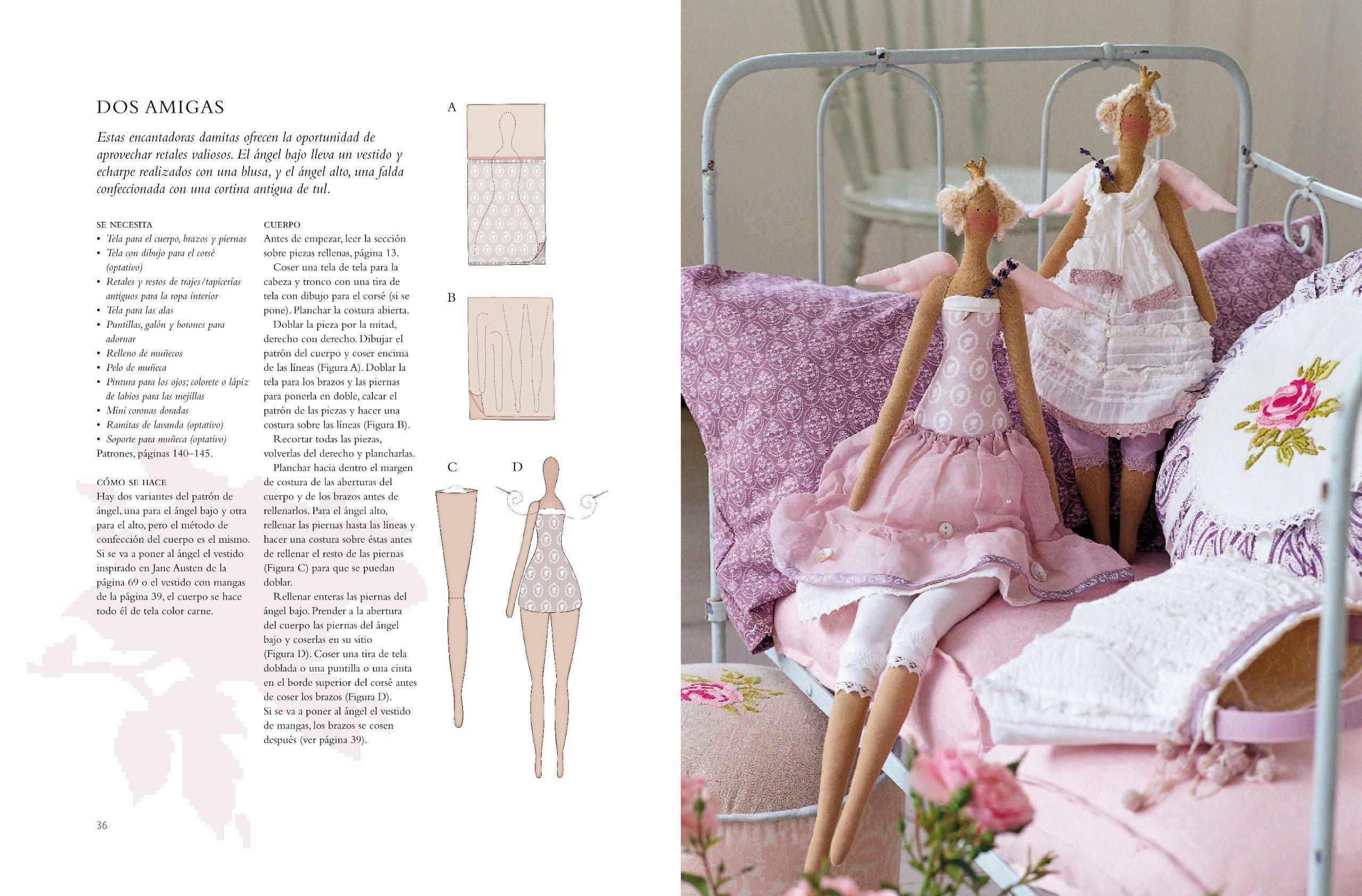 Amazon.com: Labores para la casa y muñecos de tela con ...