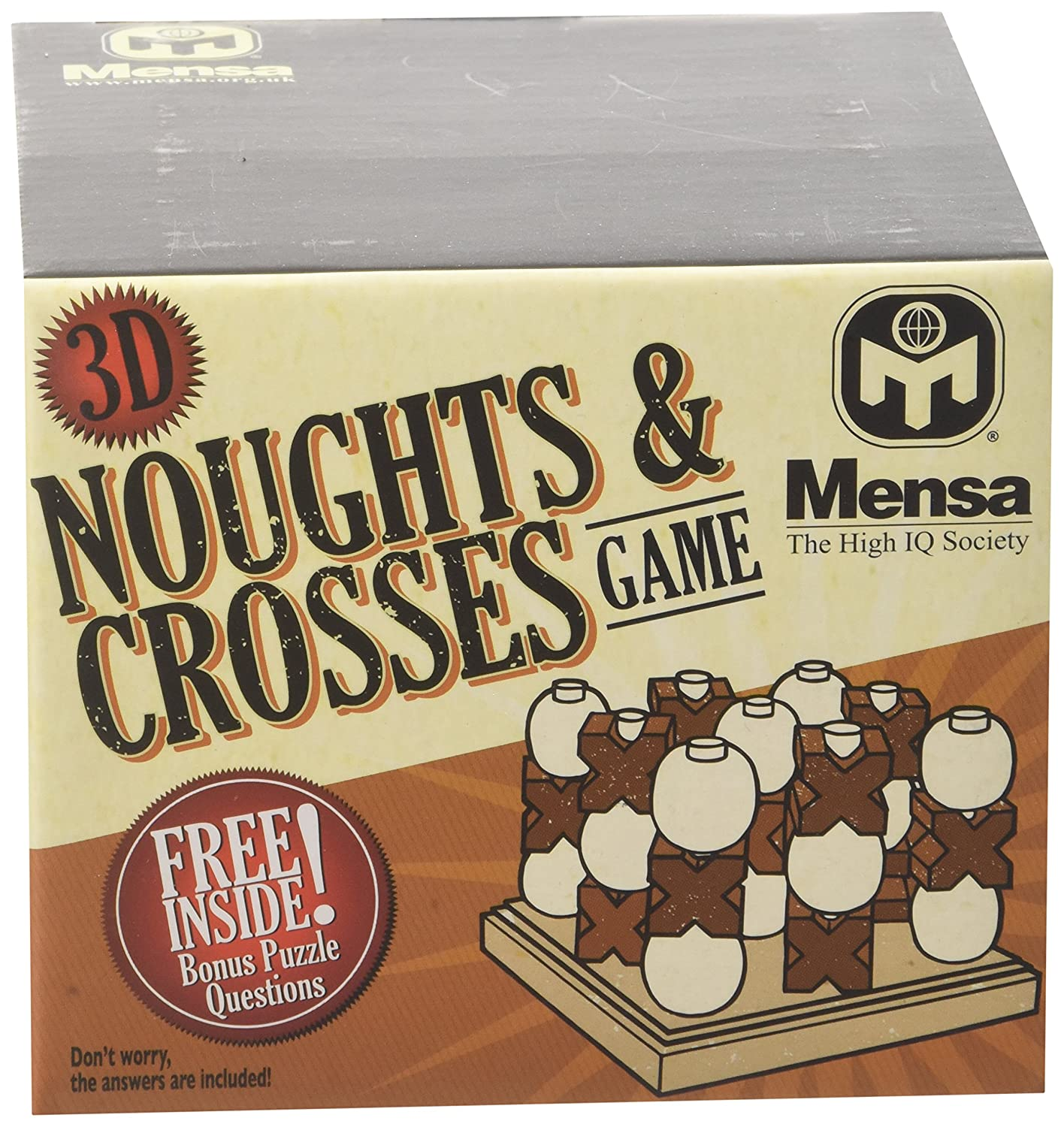 Mensa 874023 3D Noughts and Crosses Puzzle