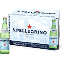 Sanpellegrino Sparkling Natural Mineral Water, 24 x 500ml, Natural