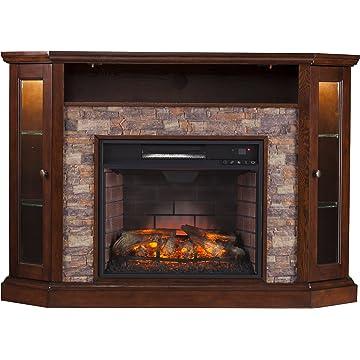 Amazon Com Real Flame 3750e O Churchill Electric Fireplace Oak